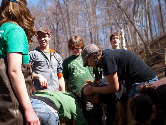 Vertebrate Zoology Spring 2011 - Fish Seining - 03.17.2011 - 12.24.38