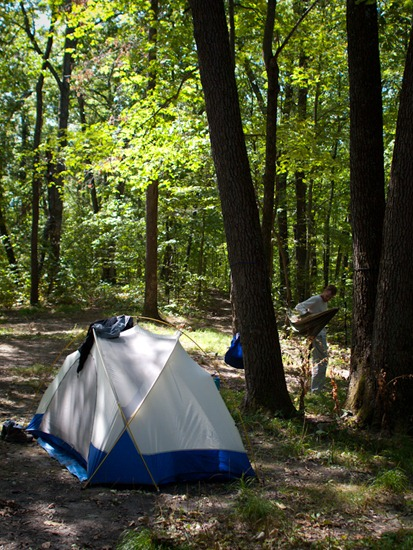 Camping at Zaleski State Forest - 09.05.2010 - 12.16.48