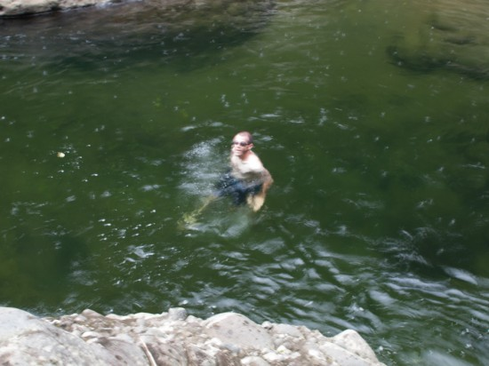 Swimming in Hitoy Cerere - 20130618 - 10