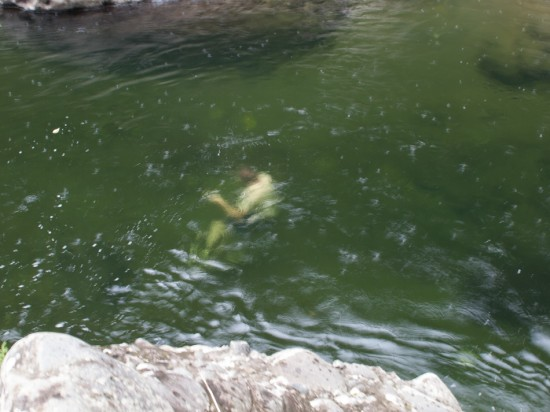 Swimming in Hitoy Cerere - 20130618 - 14